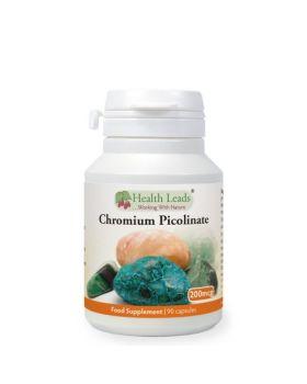 Health Leads Chrom Picolinat 200mcg x 90 Kapseln