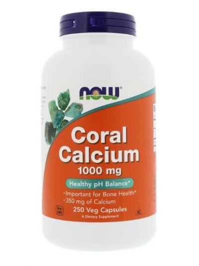 Now Foods Coral Calcium 1000 mg, 250 veg capsules