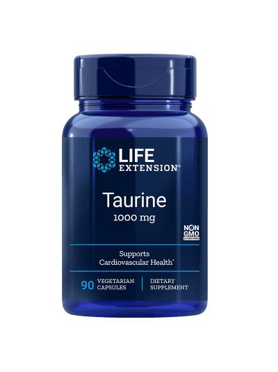 Life Extension Taurine - 1000 mg - 90 Vegetarian Capsules