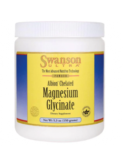 Swanson Ultra - Albion Magnesium Glycinate Powder, 150g