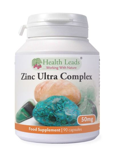 Health Leads Zink Ultra komplex 50mg x 90 Kapseln
