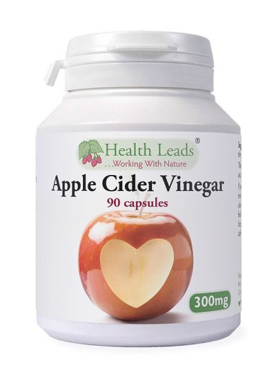 Health Leads Apple Cider Vinegar 300mg x 90 capsules
