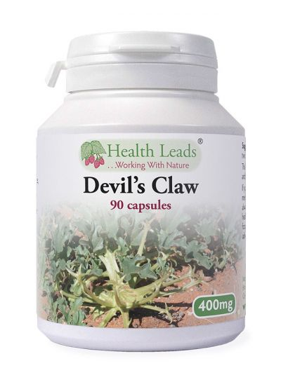 Health Leads Devil's Claw 400mg x 90 capsules