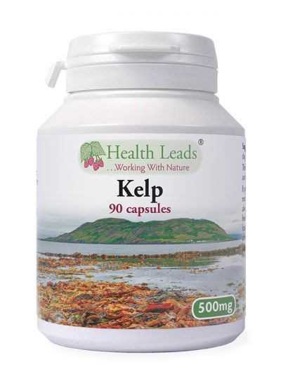 Health Leads KELP 500 MG X 90 CAPSULES