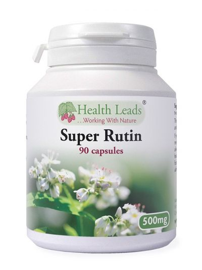 Health Leads Super Rutin 500mg x 90 capsules
