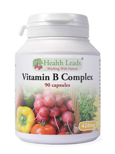 Health Leads Vitamin B-complex 426 mg x 90 capsules