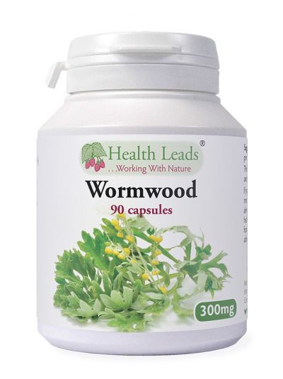 Health Leads Wormwood 300mg x 90 capsules