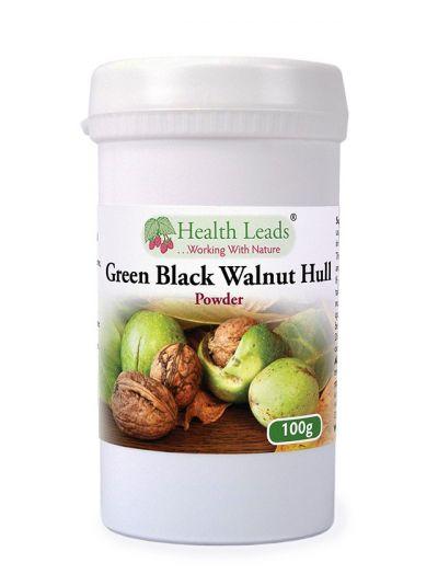 Health Leads Green Black Walnut Hull Powder 100g