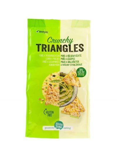 Terrasana Triangles Corn & Hülsefrüchte 80g