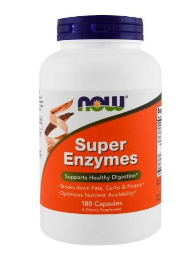 Now Foods Super Enzymes 180 Capsules