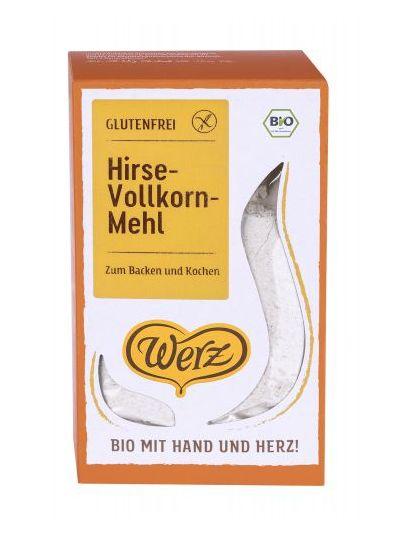 Werz Hirse-Vollkorn-Mehl, glutenfrei 500g