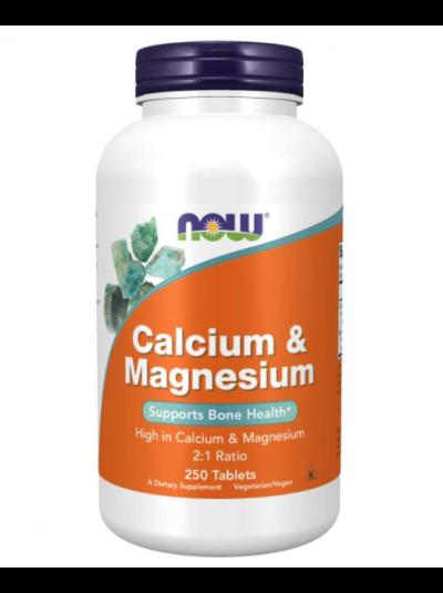 Now Foods, Calcium & Magnesium, 250 Tablets