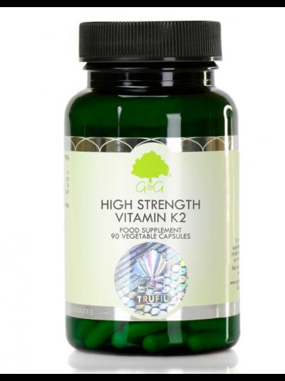 G&G Vitamins High Strength Vitamin K2 200µg - 90 Capsules