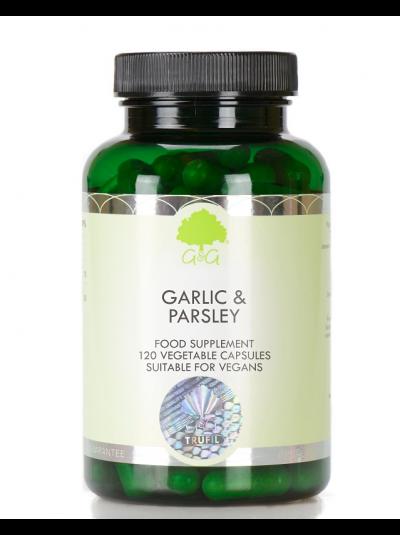 G&G Vitamins Garlic & Parsley - 120 Capsules
