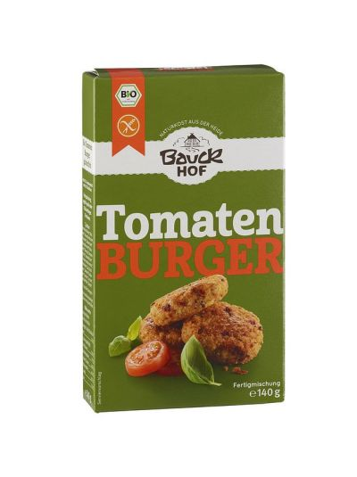 Bauckhof Bio Tomaten Burger, glutenfrei 140g