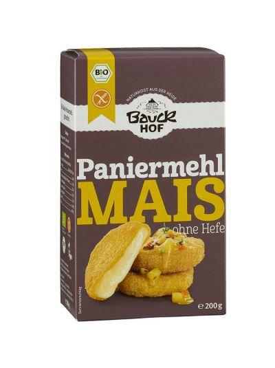 Bauckhof Naturkost Mais Panier-mehl glutenfrei, hefefrei 200g