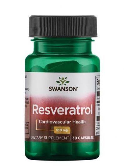 Swanson Resveratrol 100 mg 30 Kapseln