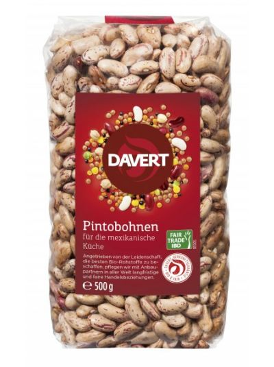 Davert Pintobohnen Fair Trade IBD 500g