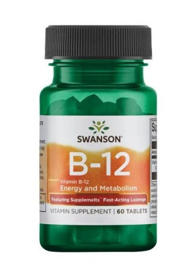 Swanson Ultra Vitamin B-12 5.000 mcg 60 Tabletten