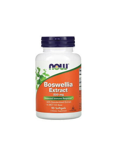 Now Foods Boswellia Extract 500 mg 90 Softgels