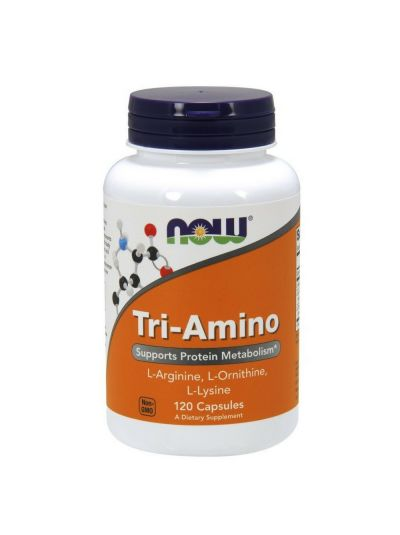 Now Foods Tri-Amino 120 Capsules