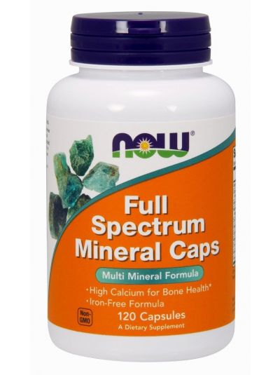 Now Foods Full Spectrum Minerals Caps 240 Capsules