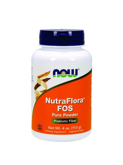Now Foods NutraFlora FOS Pure Powder (113 g)
