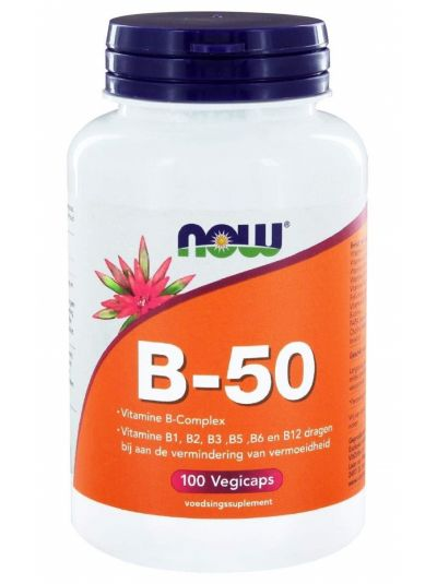 Now Foods B-50 HIGH DOSAGE 100 Veg Capsules