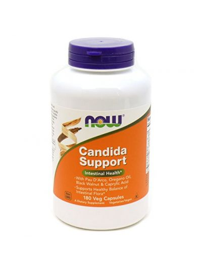Now Foods Candida Support 180 Veg Capsules