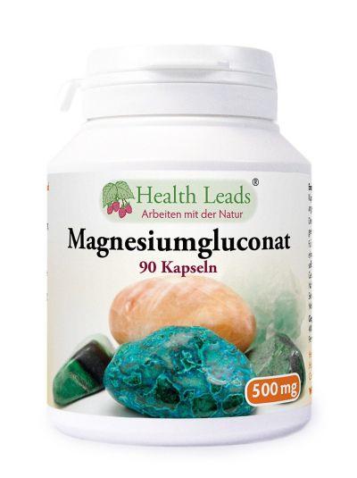 Magnesiumgluconat 500mg 90 Kaps