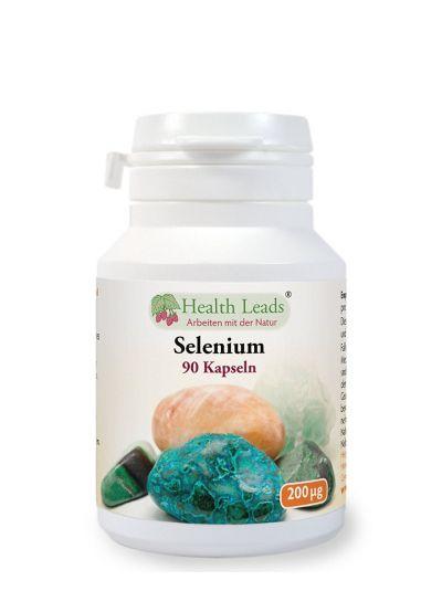 Health Leads Selenium 200mcg x 90 capsules