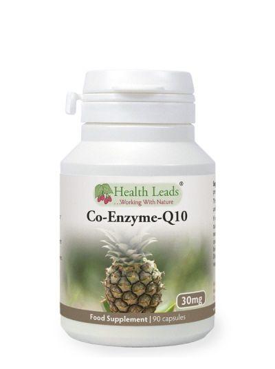 Health Leads Co-Enzym-Q10 Ubiquione - 30mg x 90 Capsules