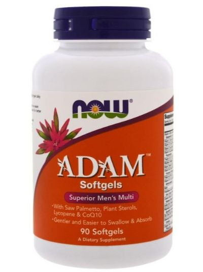 Now Foods Adam Superior Men's Multi 90 Softgels