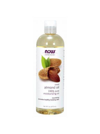 100% PURE SWEET ALMOND OIL 473 ML