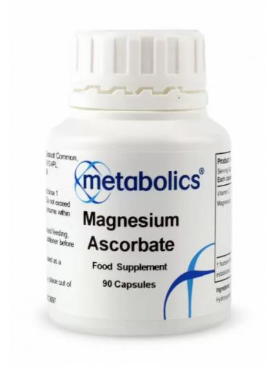 Metabolics Magnesium Ascorbate 90 Capsules