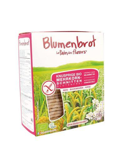 Blumenbrot Bio Mehrkorn-Schnitten glutenfrei (150g)