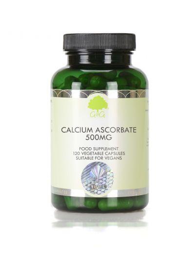 G&G VITAMINS Vitamin C als Calcium Ascorbate 500mg - 120 Kapseln