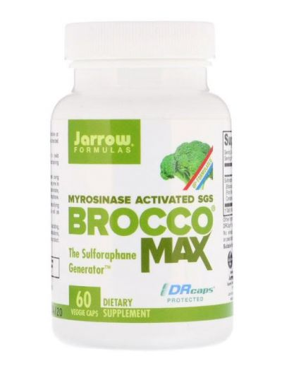 Jarrow Formulas BroccoMax aktivierte Myrosinase 60 vegetarische Kapseln
