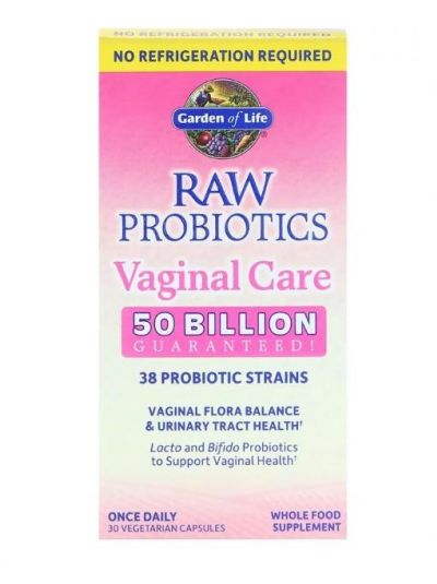 Garden of Life Raw Probiotics Vaginal Care 30 vegetarische Kapseln