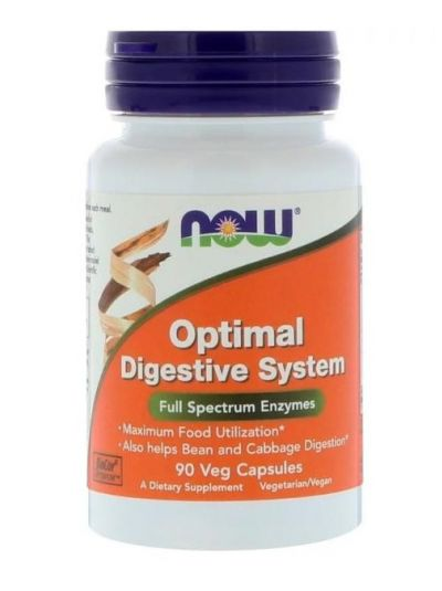 Now Foods Optimales Verdauungssystem 90 vegetarische Kapseln