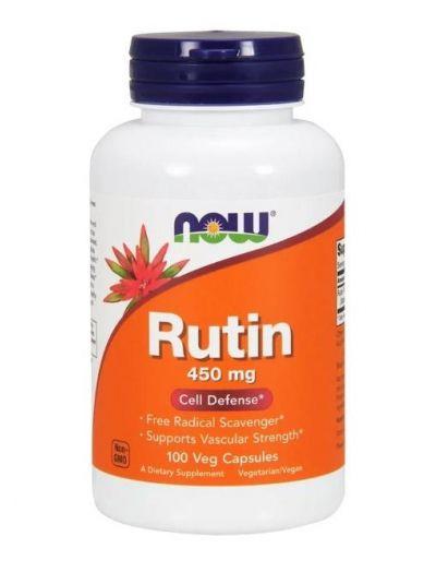Now Foods Rutin 450 mg, 100 Veg Capsules