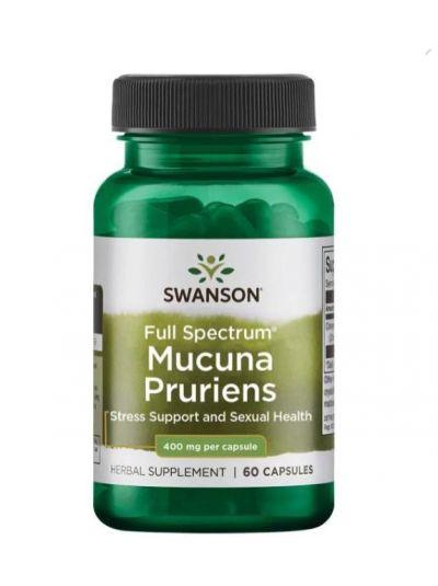 Swanson Vollspektrum Mucuna Pruriens, 400 mg - 60 Kapseln