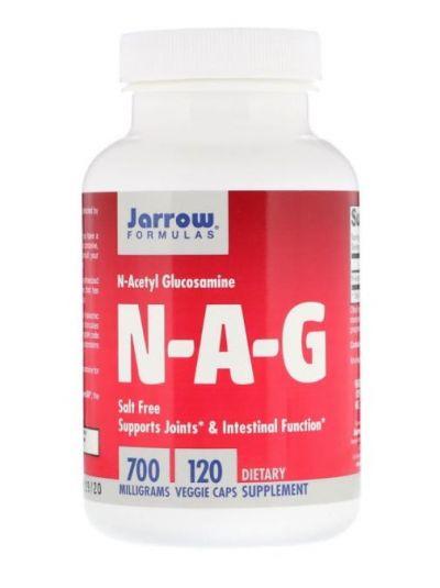 Jarrow Formulas N-A-G, 700 mg, 120 Veggiekapseln