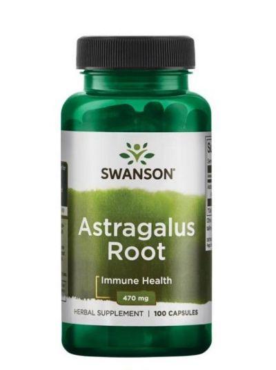 Swanson Astragalus Wurzel 470 mg 100 Kapseln