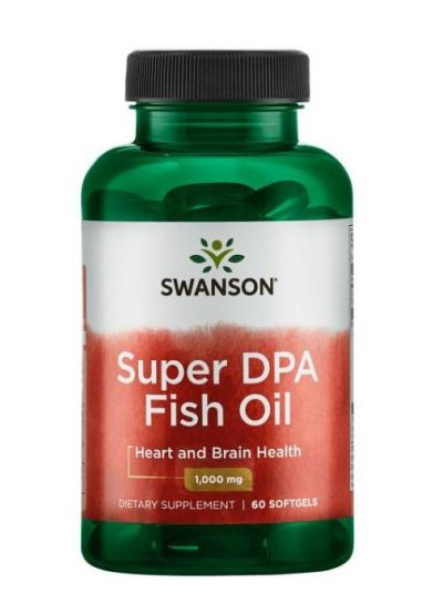Swanson Super DPA Fischöl 1000 mg 60 Softgels