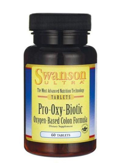 Swanson Pro-Oxy Biotic mit Probiotika und Präbiotika 60 Tabletten