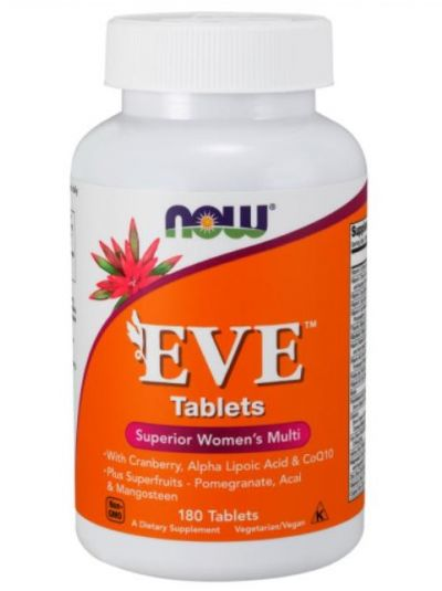Now Foods EVE Superior Women's Multi 180 Tablets