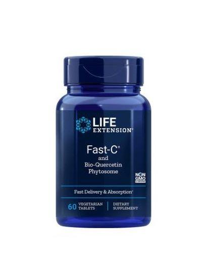 Life Extension Fast-C und Bio-Quercetin-Phytosom, 60 vegetarische Tabletten