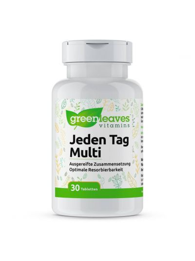 Green Leaves JEDEN TAG MULTI 30 TABLETTEN