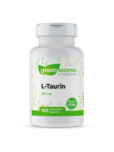 Green Leaves L-taurine 500 mg 100 Kapseln
